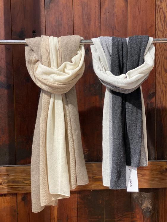 8Design sjal/halsduk i cashmere