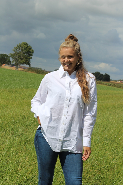 Oversize skjorta från Tif Tiffy