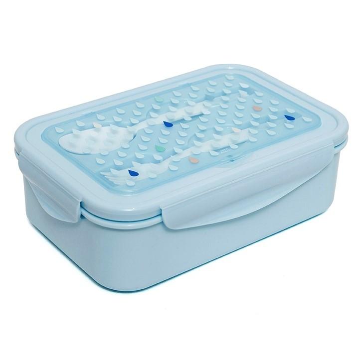 Lunchbox droppar Blå