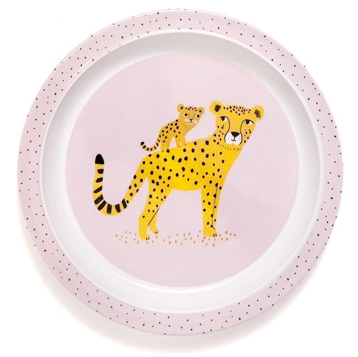 Tallrik Leopard