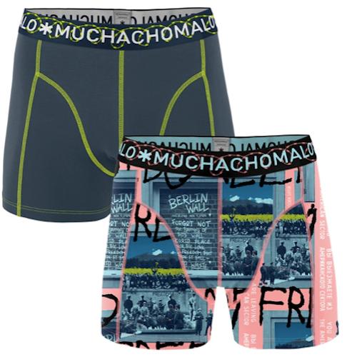Muchachomalo - Berlin, bomullsboxer 2pkt