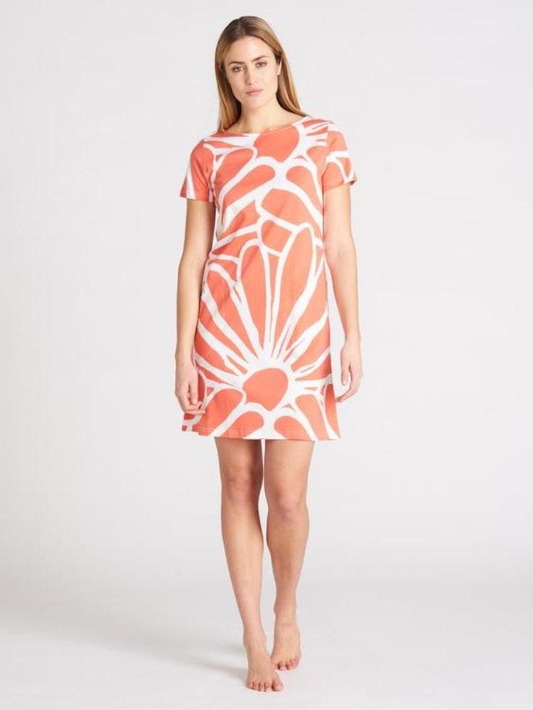 Nanso - Päivänkakkara nattlinne/klänning (aprikos)