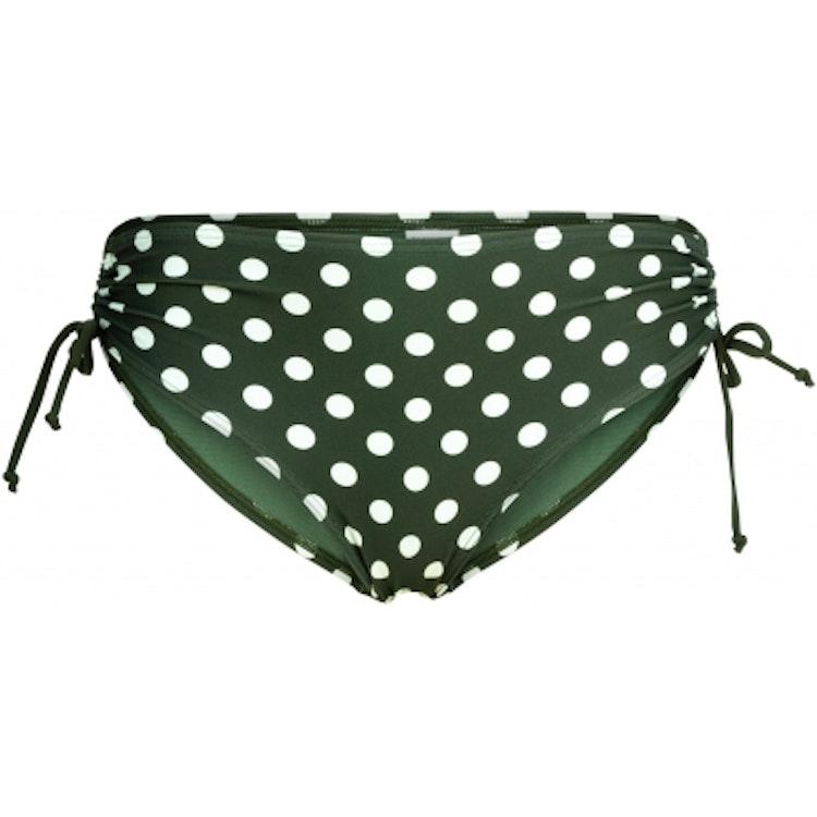 Wiki - bikinitrosa midi (grön & vit)