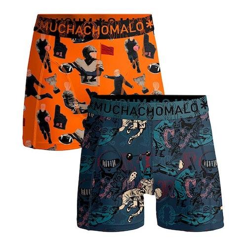 Muchachomlalo - Sports, bomullsboxer 2pkt