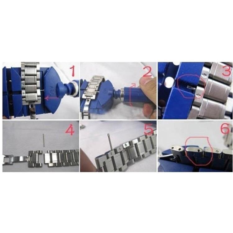 Hjälpverktyg för att justera klocklänkar