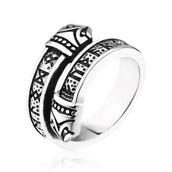Ring Viking Midgård Snake