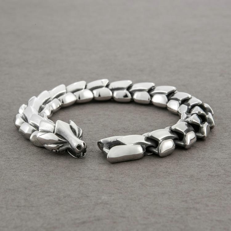 Armband Viking-Wolf Gold-Super