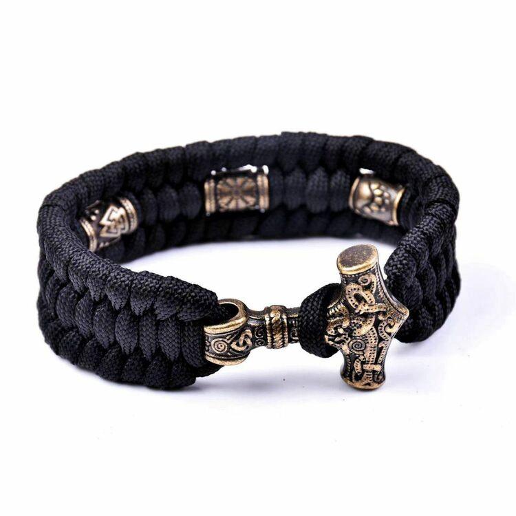 Armband Viking Vidar Oxiderad.