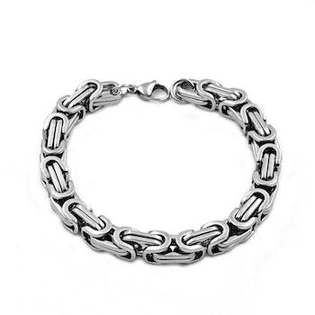 Armband Kejsarlänk Steel. 23 cm