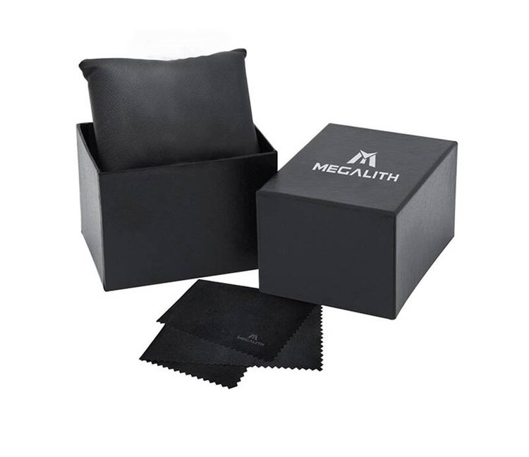Present-klockbox De lux Megalith.