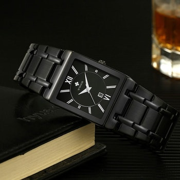 Herrklocka Wwoor Boss. Black / Black / Black. Quartz Japan