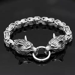 Armband Viking Wolf Kejsarlänk 2 22 cm