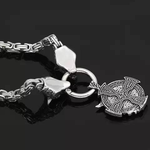 Halsband Viking Wolf-Oden. Kejsarlänk 60 cm