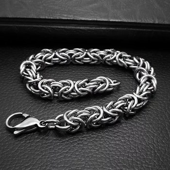 Armband kungslänk 21 cm