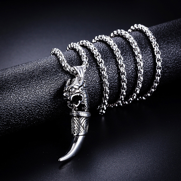 Halsband Drake-Klo Ankarkedja 60 cm