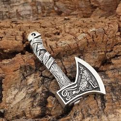 Halsband Viking Yxa-Rep-Skaft Ankarlänk 60 cm