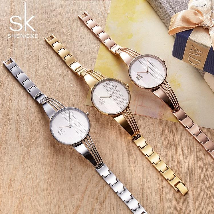 Damklocka Sk Bellami. Silver / Silver. Länk Silverfärgad. Japan Quartz