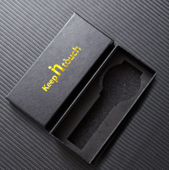 Kepp in Touch Disponent. Black / Steel. Länk Stainless Steel. Japan Quartz