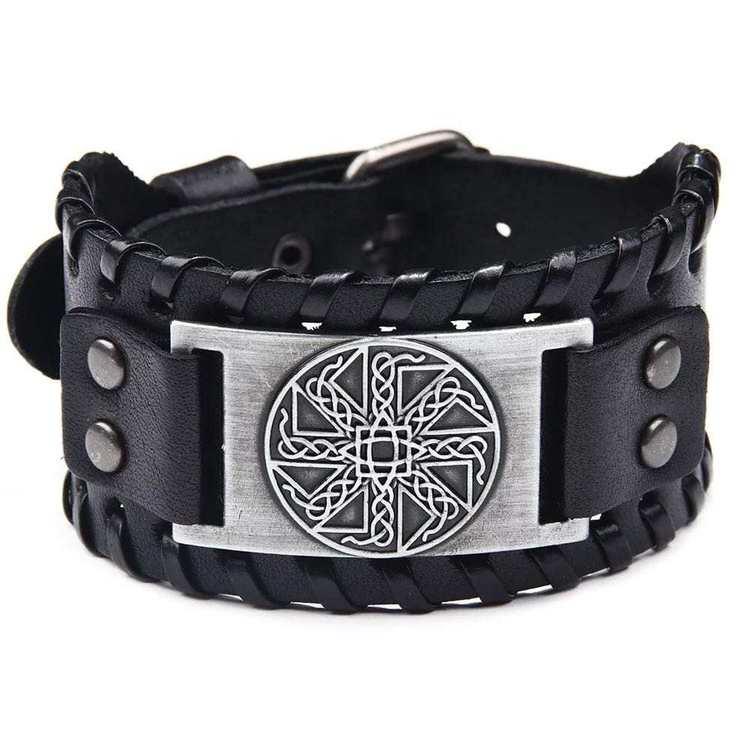 Läderarmband Viking 6 vikingasmycke armband