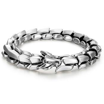 Armband Viking-Wolf Steel-Super