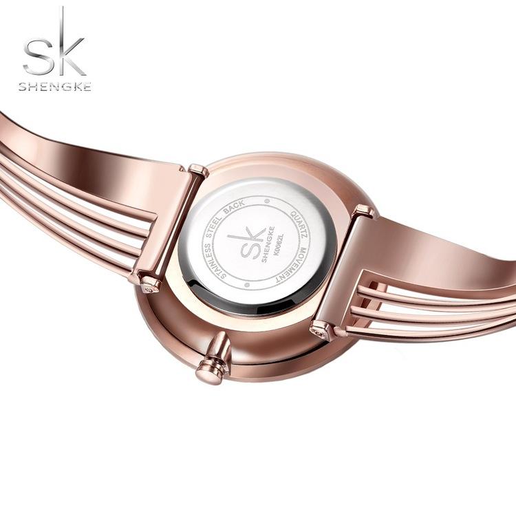 Damklocka SK Bellami. Silver / Rose. Länk Rose. Japan Quartz