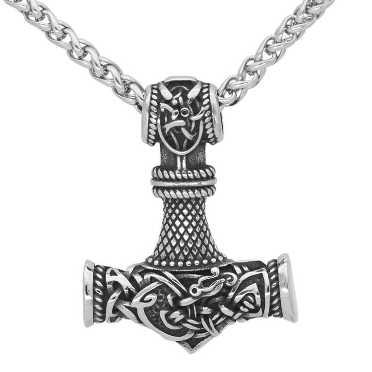 Halsband Thors hammare Gute