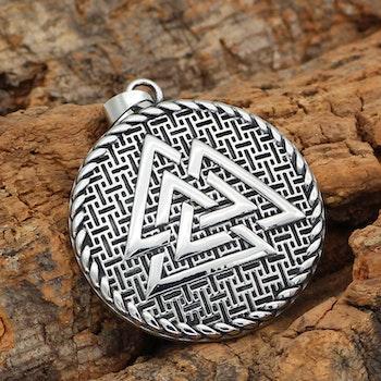 Halsband Viking Amulett Valknut