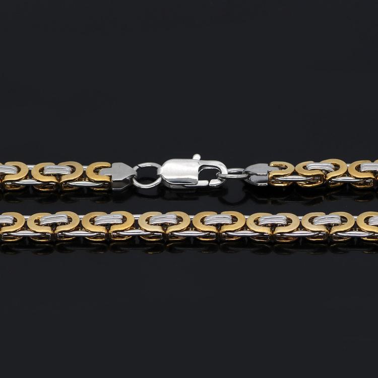 Halsband Thor . Fet Kejsarlänk Guld / Silverfärg