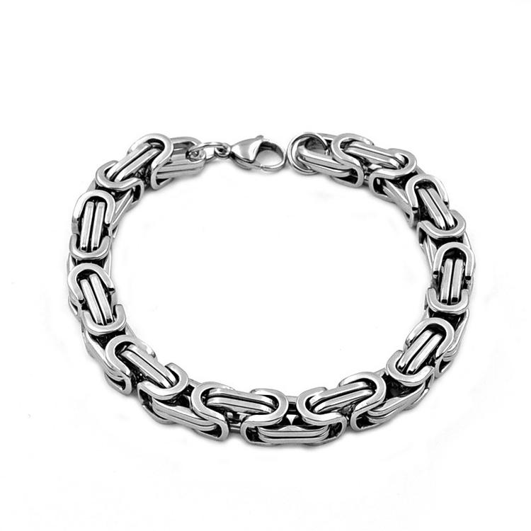 Armband Kejsarlänk Steel. 21 cm