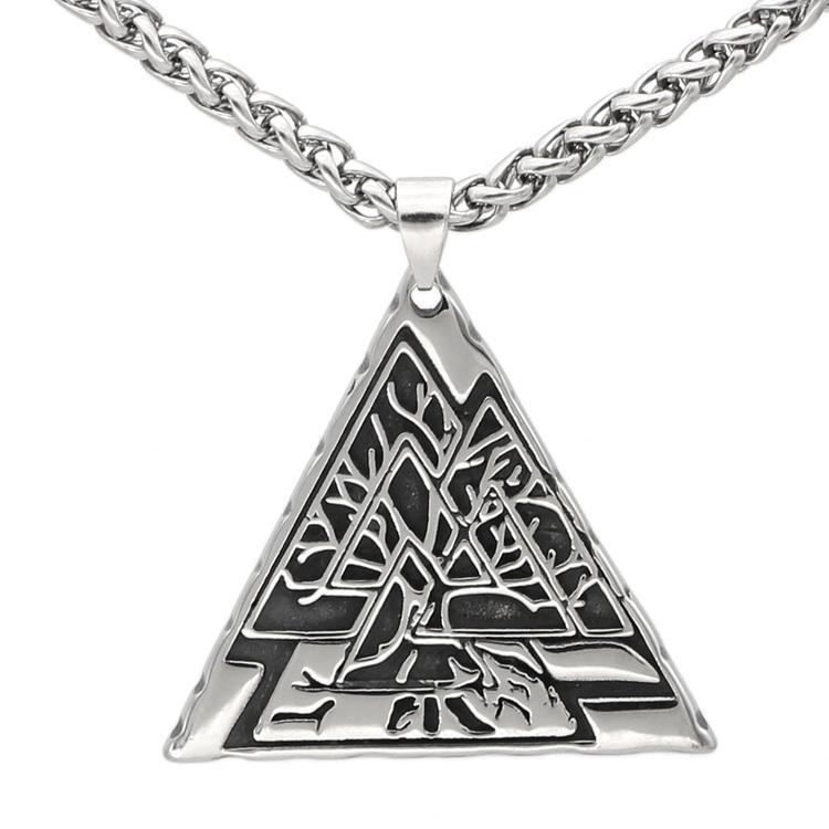 Halsband Yggdrasil i Triangel