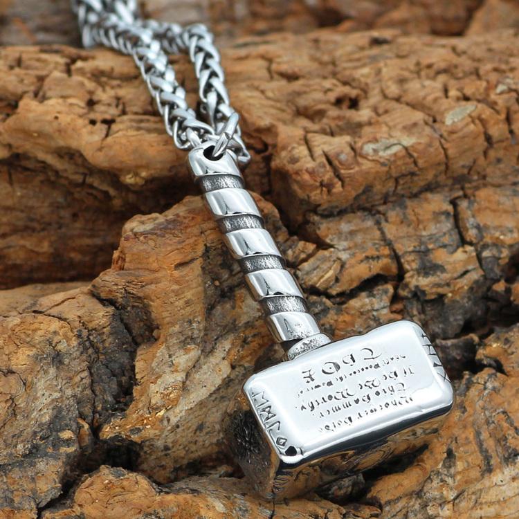 Halsband Viking Steel Hammer