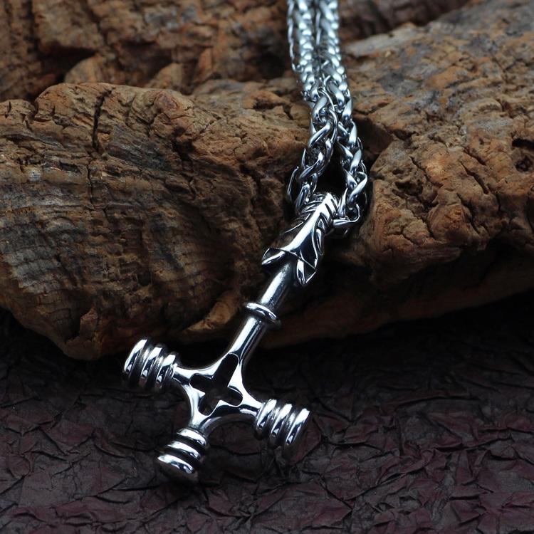 Halsband Vargkorset Kedja