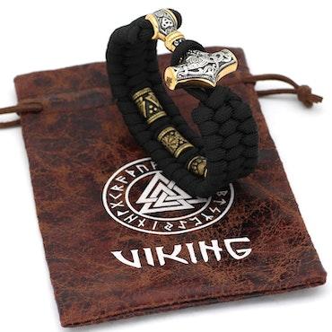 Armband Viking  Vidar Gold / Silver