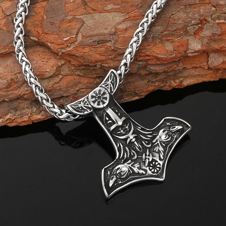 Halsband Viking  Korp Hugin-Munin