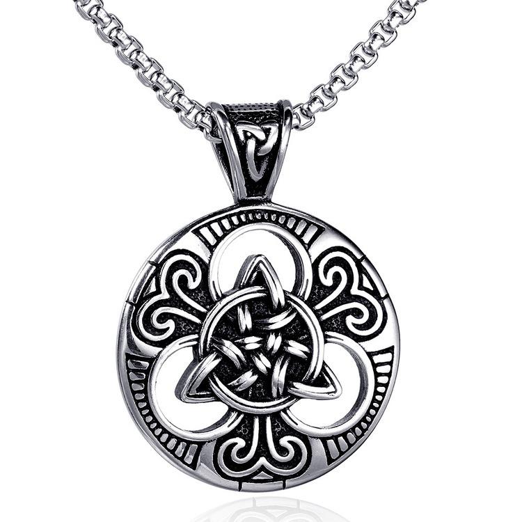 Halsband Amulett Keltisk Knut