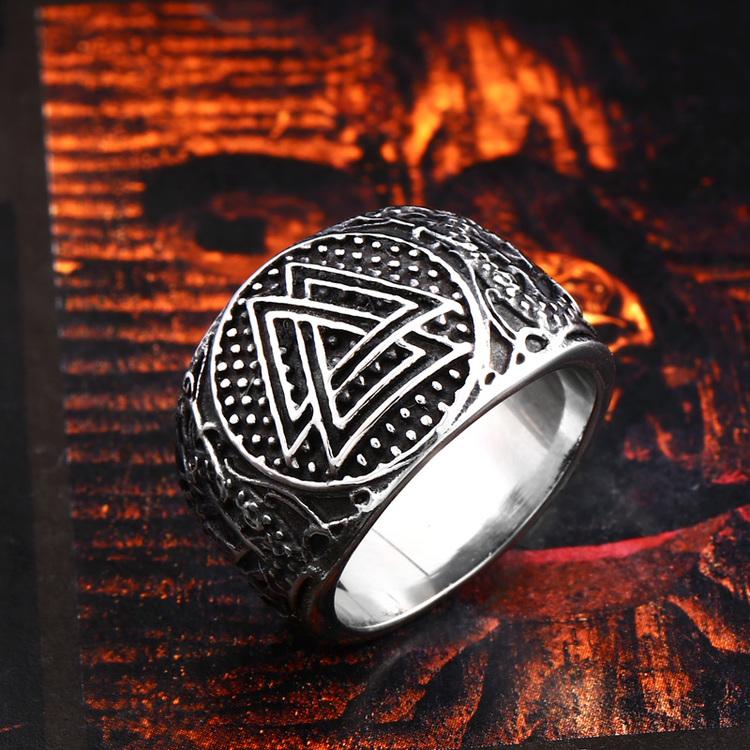 Ring Viking The Valknut