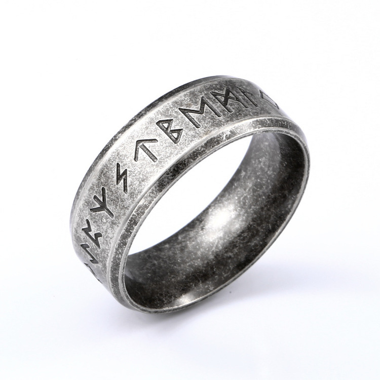 Ring Viking Futhark