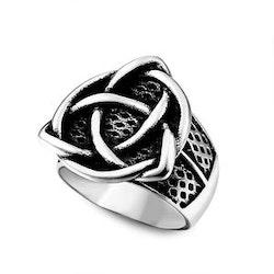 Ring Viking Celtic knot 3