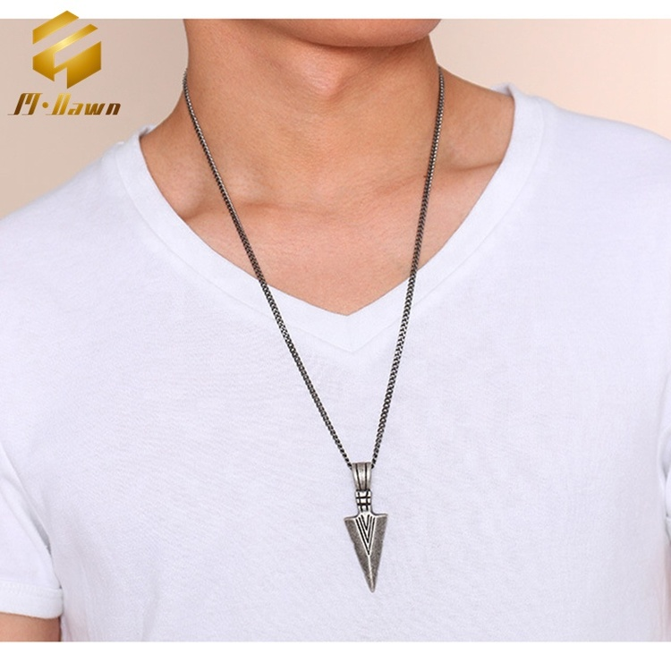 Halsband Arrows Antikfärg 60 cm