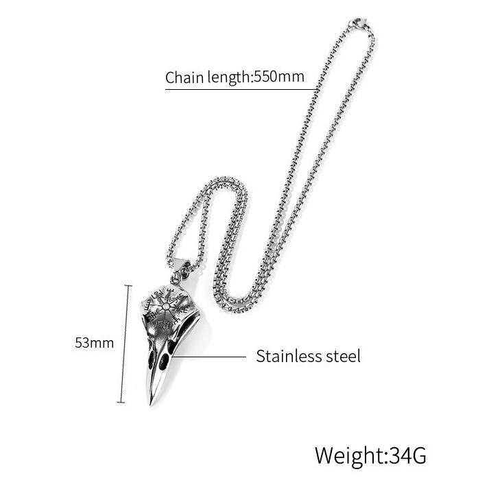 Halsband Hugin Vegvisir 60 cm