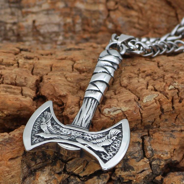 Halsband Thor Double Axe
