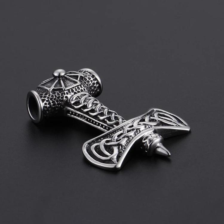 Halsband med en unik Thorshammare 12 Ankarkedja 60 cm vikingasmycke