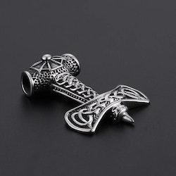 Halsband med en unik Thorshammare 12 Ankarkedja 60 cm