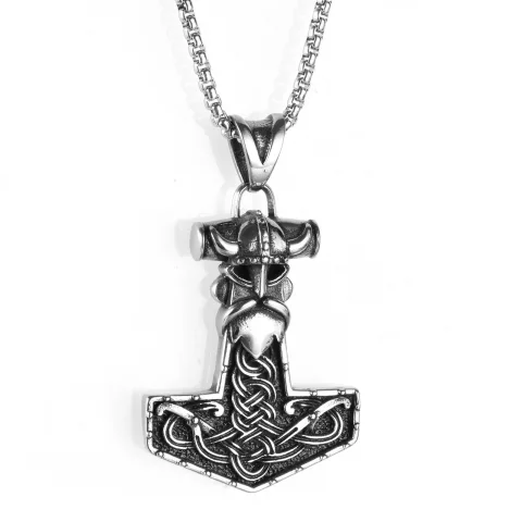 Halsband Viking Thorvald Ankarkedja 60 cm vikingasmycke