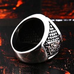 Ring Vegvisir / Valknut Special