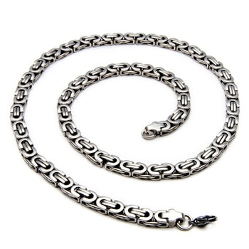 Halsband Thor. Fet Kejsarlänk Steel