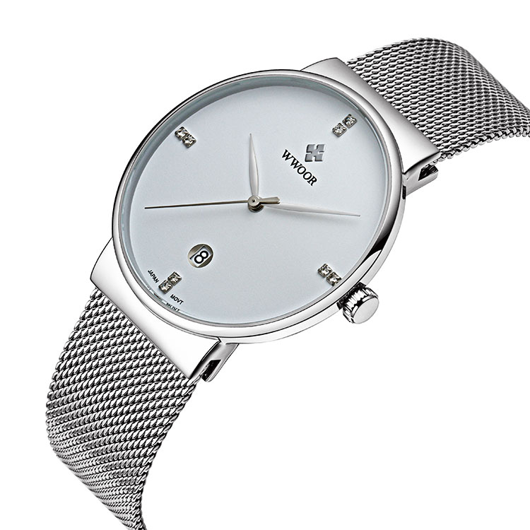 Herrklocka WWoor 8018 silver