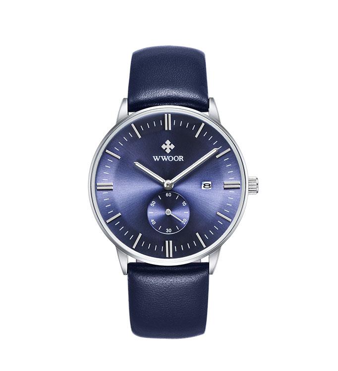 Herrklocka Wwoor 8808P blå