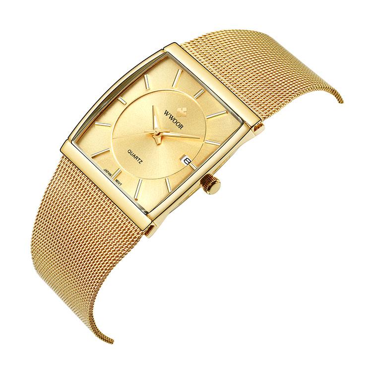 Herrklocka Wwoor 8831 gold guld