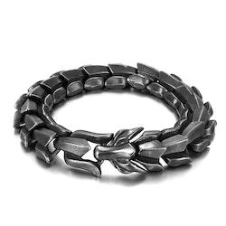 Armband Viking-Wolf Oxiderad- Super